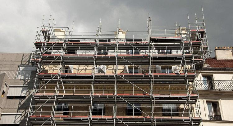 Burflex scaffolding